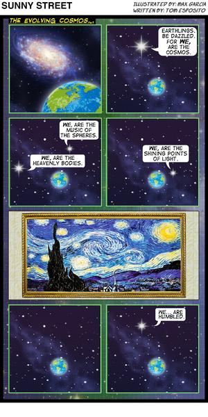 Sunny Street Evolving Cosmos Comic