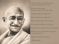 Gandhi - Peace